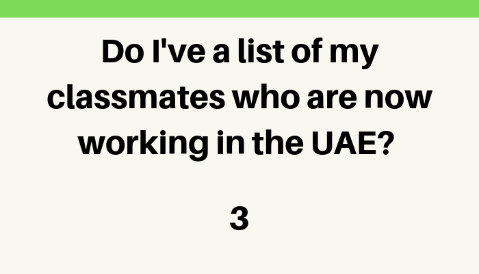 15 Checklist qestions for job seekers in the UAE