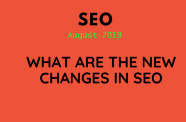 what are the new changes in SEO 2019
