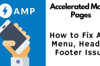 How to fix AMP blog page