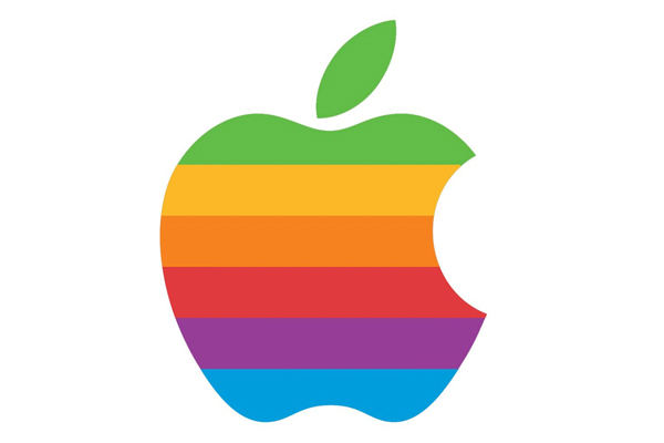 Apple logo history