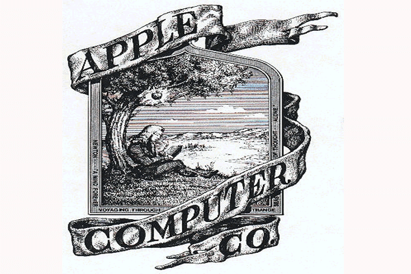 Apple old logo