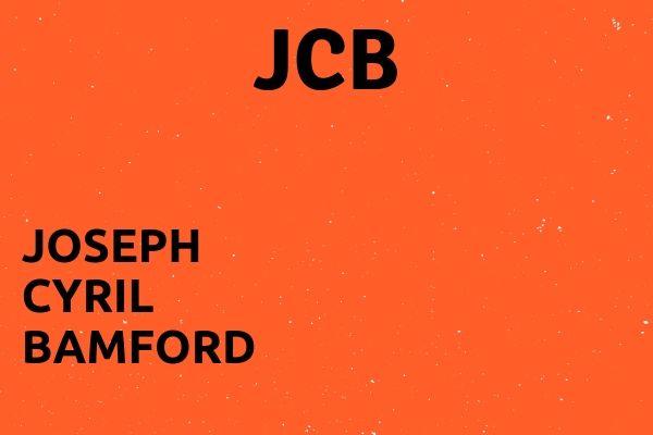 Full name of JCB