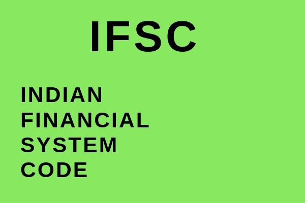 Full name of IFSC