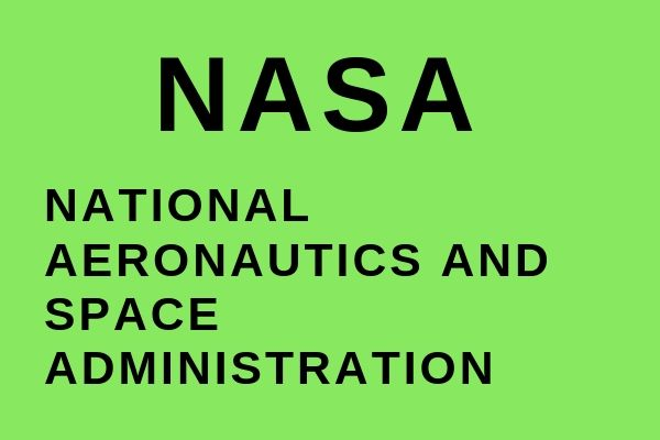 Full name of NASA