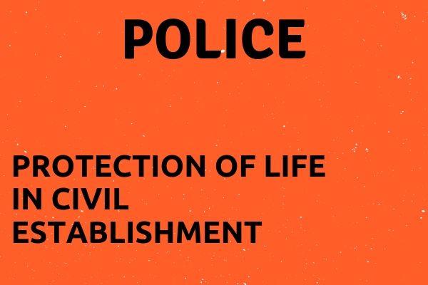 Full name of POLICE