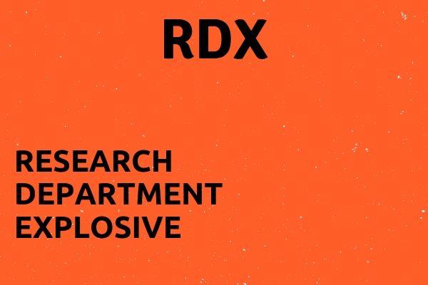 Full name of RDX