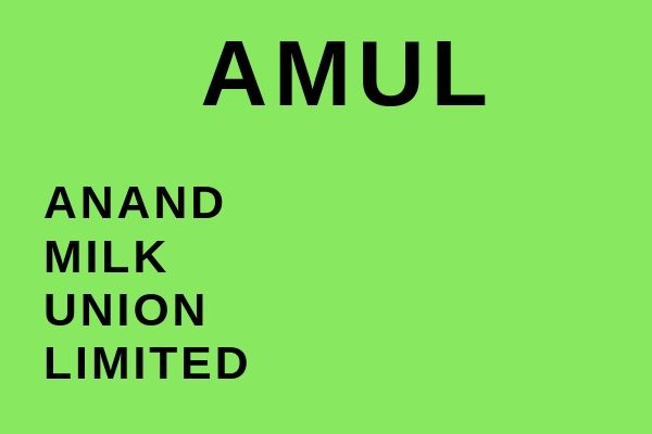 Full name of Amul