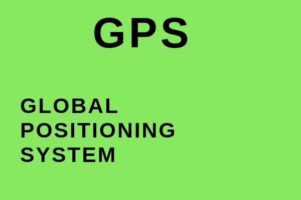 Full name of GPS