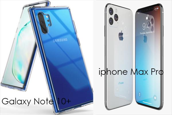 iphone 11 max pro vs galaxy note 10+