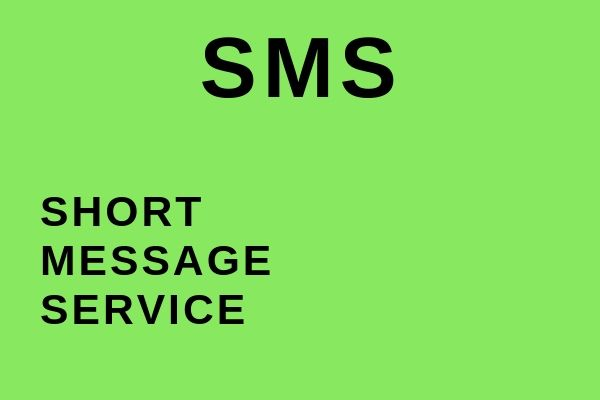 Full name of SMS