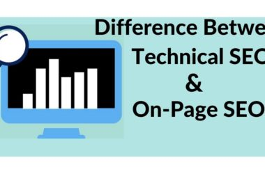 Difference between technical seo and on page seo