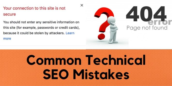 Common technical seo mistakes