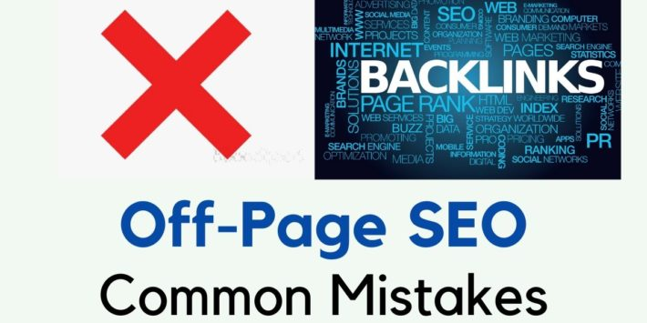 off page seo mistakes