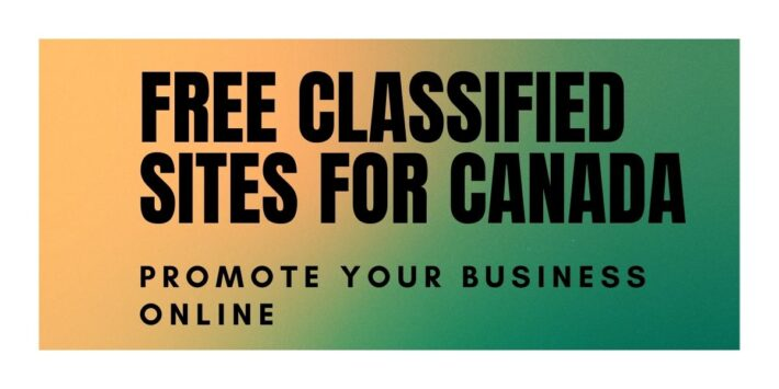 free classified sites Canada